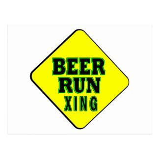 Beer Run Crossing Postcard