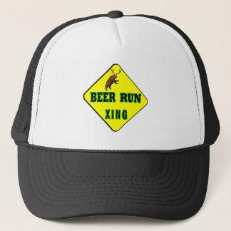 Beer Run Crossing Trucker Hat