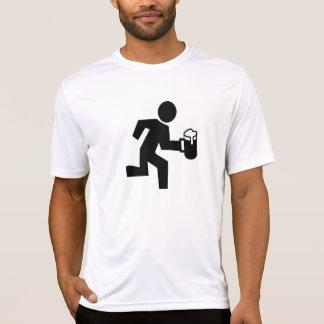 Beer Runner - Follow Me Tech Tee Shirt