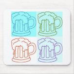 Beer Runner/Oktoberfest Mouse Pads