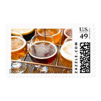 Beer Sampler Postage Stamps