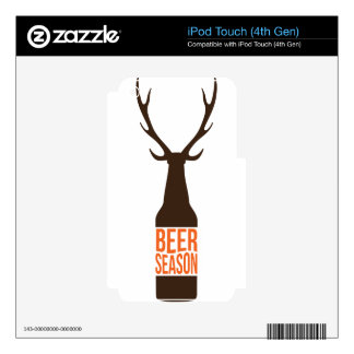 Beer Season iPod Touch 4G Skin