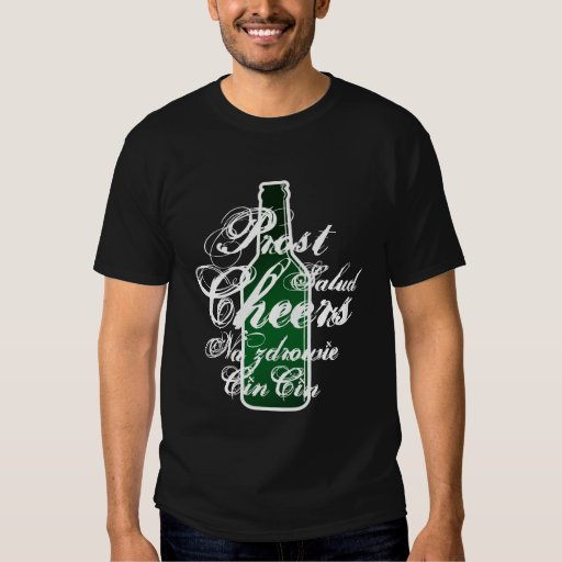 Beer shirt | Cheers in different languages