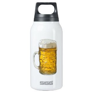 Beer 10 Oz Insulated SIGG Thermos Water Bottle