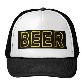 Beer Sign in Neon Trucker Hat