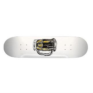 beer skateboard