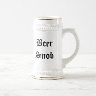 Amazing Beer Snob Beer Stein