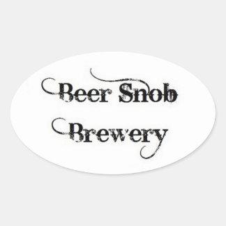 Beer Snob Brewery Sticker
