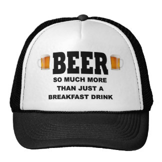 BEER SO MUCH MORE THAN TRUCKER HAT