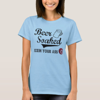 Beer Soaked Official T for Ladies Baby Doll T-Shirt