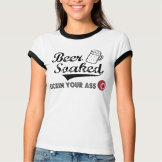 Beer Soaked Official T for Ladies T-Shirt