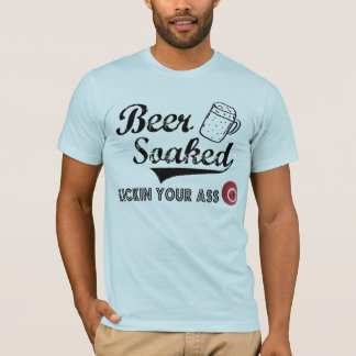Beer Soaked Official T for Men T-Shirt