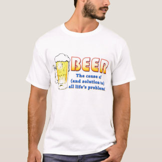 Beer - Solutions and Problems (lite) T-Shirt