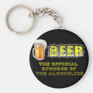 Beer Sponsored Keychain
