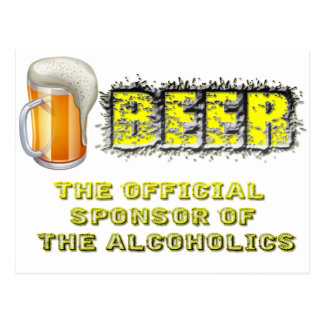 Beer Sponsored Postcard
