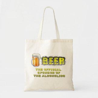 Beer Sponsored Tote Bag
