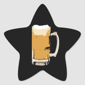 Beer Star Sticker