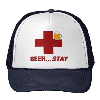 Beer ..... Stat Trucker Hat
