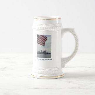 beer stein - CitywithFlag