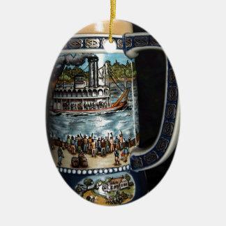 Beer Stein, decorative Ceramic Ornament