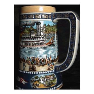 Beer Stein, decorative Letterhead