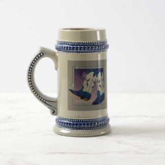Beer Stein - Electric Slide Cowboy Boots