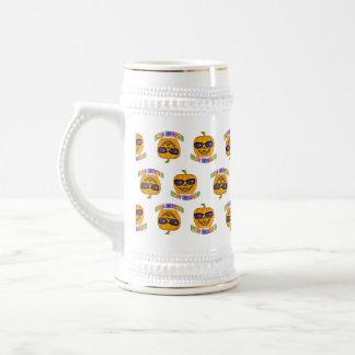 Beer, Stein - Halloween Jack O Lantern Pumpkin Mugs