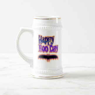 Beer, Stein - HAPPY BOO DAY - Halloween