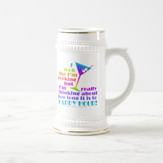 Beer Stein - How Long to Happy Hour