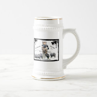 Beer Stein Logo Mug