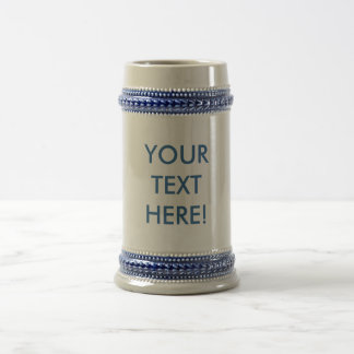 Beer Stein ~ MAKE IT YOURSELF