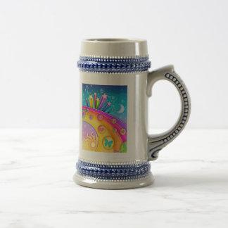 Beer, Stein - Retro Pop Art Sixties Sky