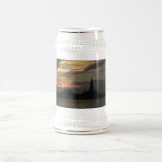 Beer Stein - Sunset Giorgio Maggiore, Venezia Coffee Mugs