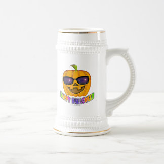 Beer Steins, Frosted Mugs - Cool JACK O'Lantern