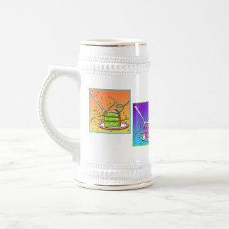 Beer Steins - Pop Art Cake