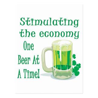 Beer Stimulus Postcard