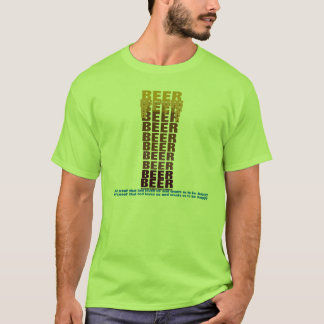 BEER STOUT BEER T-Shirt