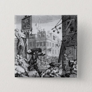 Beer Street, 1751 Button