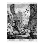 Beer Street, 1751 Post Card