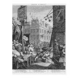 Beer Street, 1751 Postcards