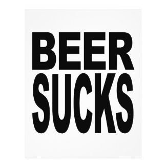 Beer Sucks Flyer