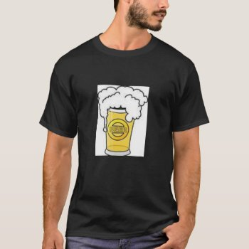 Beer  T Shirt  Mens   Black by creativeconceptss at Zazzle