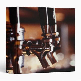 Beer Taps 3 Ring Binder