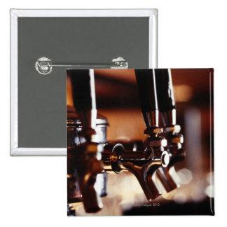 Beer Taps Pinback Button