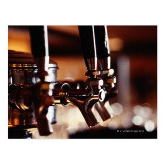 Beer Taps Postcard