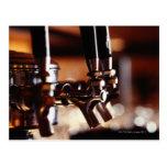 Beer Taps Postcards