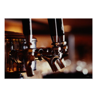 Beer Taps Poster