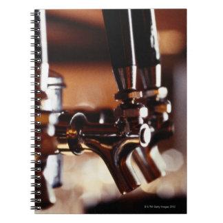 Beer Taps Spiral Notebook