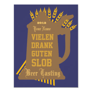 Beer Tasting Invitation