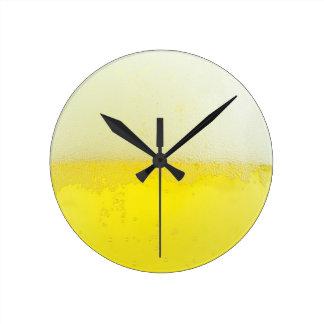 Beer texture design clocks